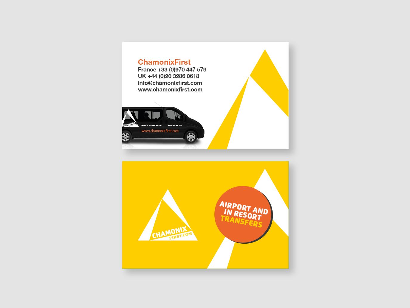 Business Card Design - Chamonix First