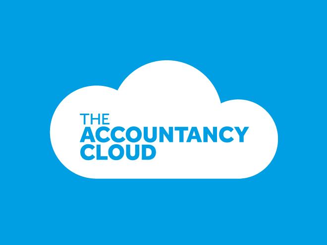 logo design - accountancy cloud