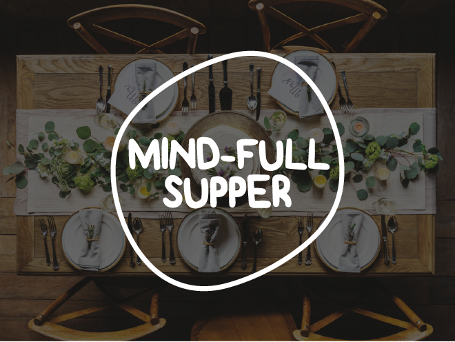 logo design - mind-full supper