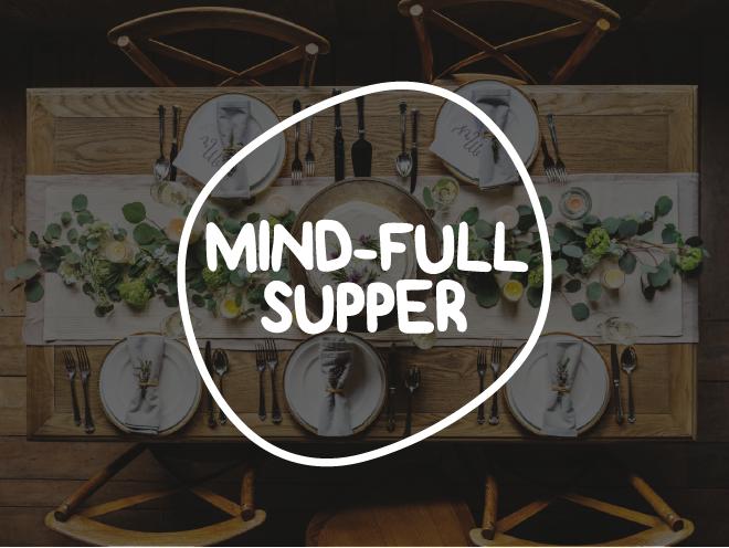 logo design - mind-full supper