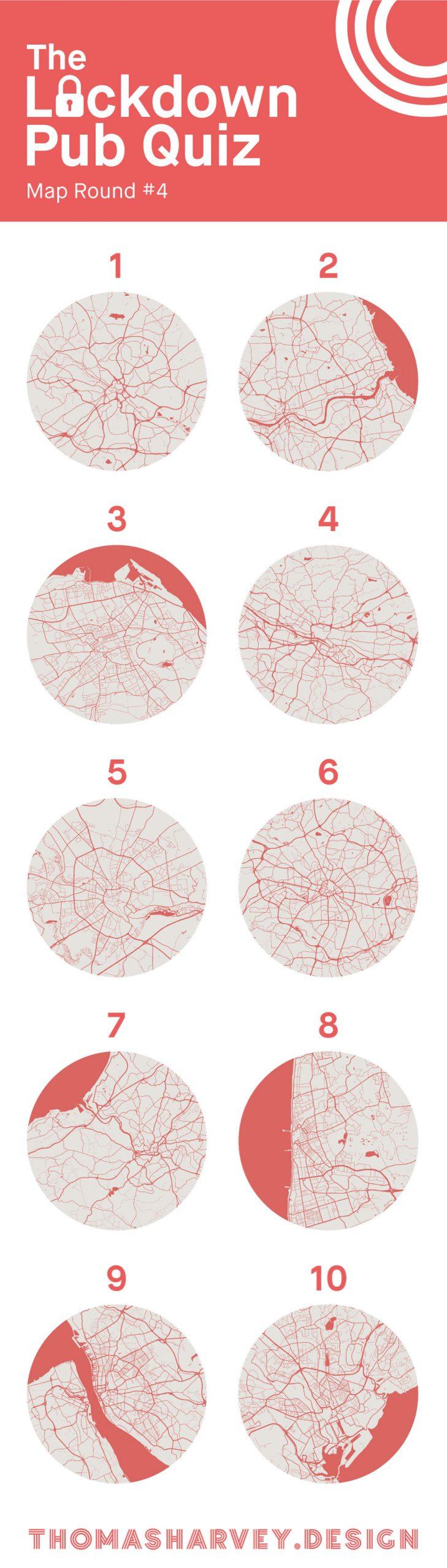 lockdown pub quiz map round